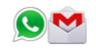 whatsapp and gmail