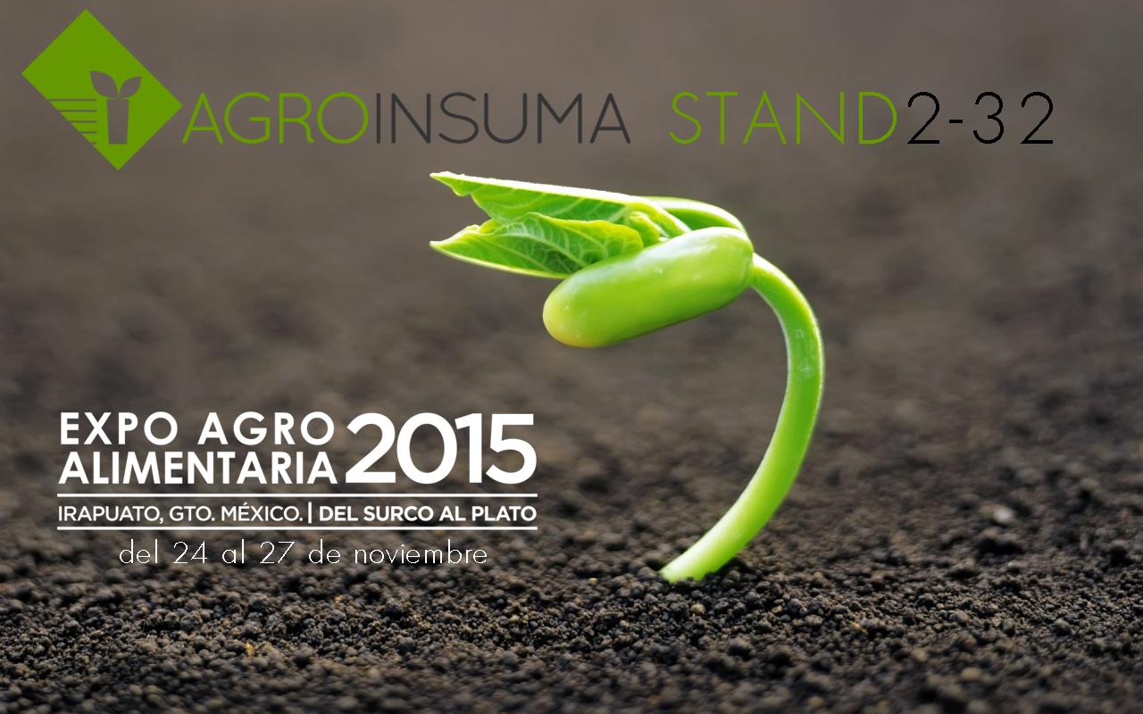 Agroinsuma no podía faltar a esta cita en Expo AgroAlimentaria Guanajuato para presentar toda la gama de productos Proptek y Mosa